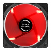 Mars Gaming MF12 Ventola Gaming da 120mm Red Light