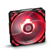 NOX Hummer H-Fan Ventola da 120mm con Led Red