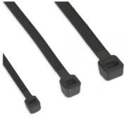 InLine Fascette per cablaggio, 300x4,8mm, colore nero, 100pz