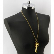 Collana due attrezzi Chiave Inglese-Gold
