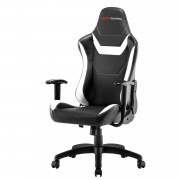 Mars Gaming MGC218BW Poltrona Gaming con AIR technology colorazione Black White