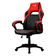 Aerocool AC40C Poltrona Gaming con AIR Technology colorazione Black Red