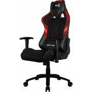 Aerocool 1 Alpha Poltrona da gioco con AIR MESH Technology colorazione Black Red