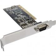 InLine Scheda seriale aggiuntiva, I0-Controller, 32-bit PCI Bus, 1x Sud-D 9pin maschio, Moschip MCS9865