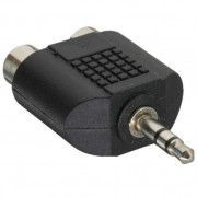 InLine Adattatore Audio, spina Jack 3,5mm a 2x prese RCA, Stereo
