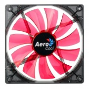 Aerocool Lighting Ventola da 140mm A Led Red