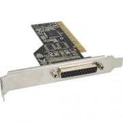InLine Scheda parallela aggiuntiva, I0-Controller, 32-bit PCI Bus, 1x Sub-D 25pin femmina LPT, Moschip MCS9865