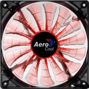 Aerocool Shark Ventola da 120mm a 1500giri Orange Edition