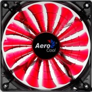 Aerocool Shark Ventola da 140mm a 1500giri Red Edition