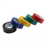 InLine Nastri isolanti per applicazioni elettriche 18mm, rotoli da 9m, vari colori, assortimento 5pz