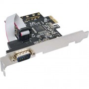In Line Scheda seriale aggiuntiva, I0-Controller, PCIe ( PCI-Express ), 1x Sud-D 9pin maschio, Moschip MCS9901