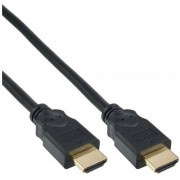 InLine Cavo HDMI 1.3, Dorato, 20m, 3D, nero, maschio / maschio HDMI-High Speed
