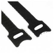 InLine Fascette velcro per chiusure a strappo 12x240mm, nere, 10pz
