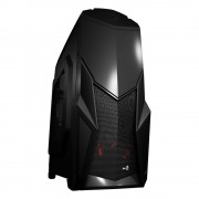 Aerocool Cruisestar Advance Case Middle Tower Black