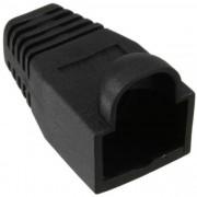 InLine Passacavo di protezione Plug RJ45, nero, 10pz
