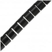 InLine Spirale protezione cavi, diametro 20mm, flessibile, nera, 10m