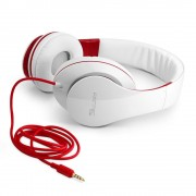 FANTEC SHP-250AJ-WT Cuffie Audio White Red