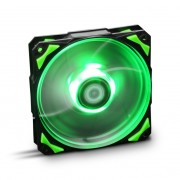 NOX Hummer H-Fan Ventola da 120mm con Led Green