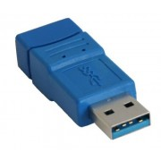 InLine Adattatore USB 3.0 Type-A maschio a USB 3.0 Type-A femmina