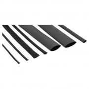 InLine Guaina termo restringente e calza trecciata raggruppa cavi in set con vari diametri e fascette di fissaggio. Conf. 7+10pz