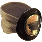 Bracciale Ceramica Oro Cacao