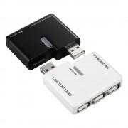 Tacens Lector Duo Hub a 3 porte USB 2.0 e Lettore Memory da 52 formati