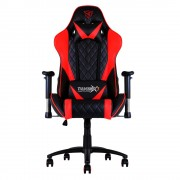 Thunder X3 TGC15BR Sedia Gaming Professionale Colorazione Black Red