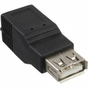 InLine Adattatore USB 2.0 Type-A femmina a USB 2.0 Type-B femmina