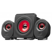 Mars Gaming Speakers MSX Black Red