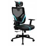 THUNDERX3 YAMA1 BLACK Ergonomi Gaming Chair - Black Cyan
